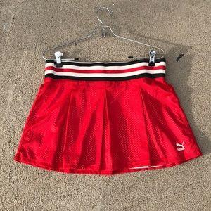 Athletic mesh Puma skirt